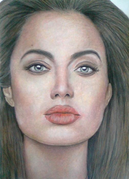 Angelina Jolie by ghosthorror